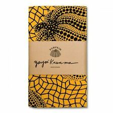 New! Yayoi Kusama Tenugui Hand Towel Pumpkin Yellow Japan Artist F/S