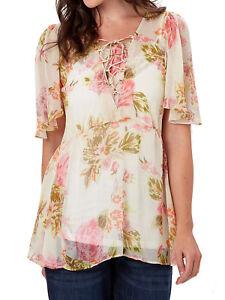 T-shirts, hemden en tops NEW ex Joe Browns CREAM This Seasons Blouse Top sizes 12 14 16 18 20 22 24 28 30 Kleding en accessoires