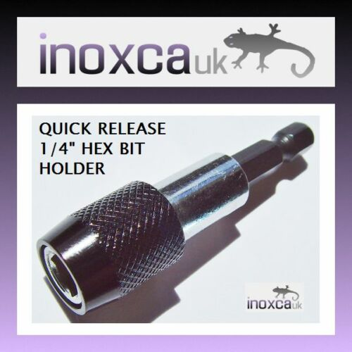 """1//4/"""" QUICK RELEASE HEX DRIVE BIT HOLDER FOR SCREWDRIVER H40  60mm  EXTENSION"""