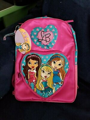 lunchbox purse new Lil Bratz  BACKPACK large school bag