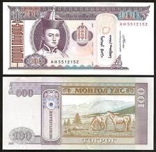 MONGOLIA 100 Tugrik 2008 UNC P 65 b