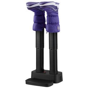 2-Shoe Electric Shoe Dryer Warmer Portable Adjustable Boots Socks Gloves Home