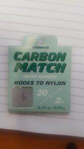 Brand New Drennan Fine Match Hooks All Sizes Available