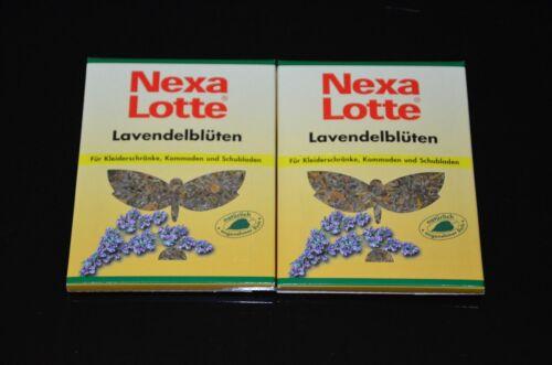 Nexa Lotte Lavande Fleurs-mites protection-Naturel Vêtements protection 2 pièces