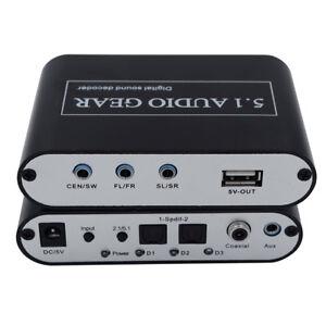 Digital-to-Analog-Adapter-5-1-Audio-Gear-Converter-Sound-Decoder-EU-US-plug