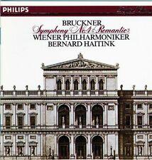 "Bruckner: Symphony no 4 ""Romantic"" / Haitink, Wiener Phil (CD, Philips)"