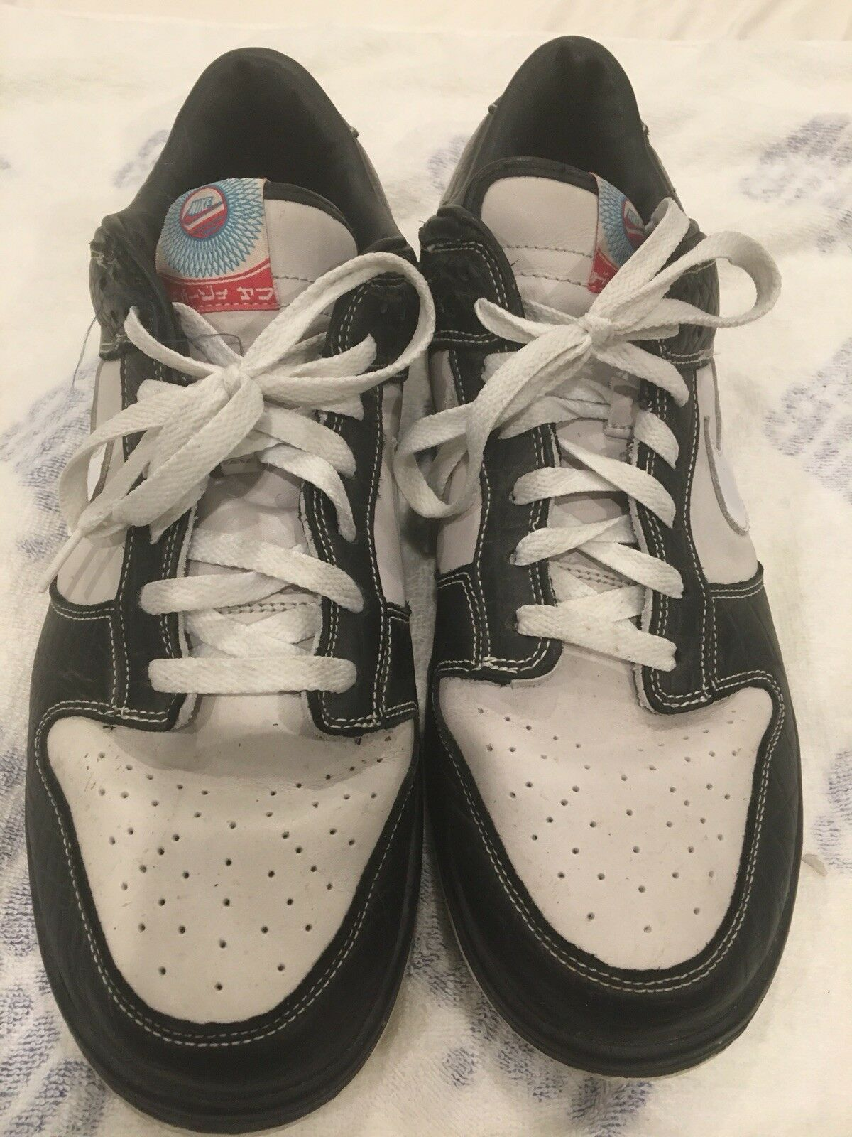 RARE Nike Dunk Low EX ID '07 Leather Crocodile NY  Premium 316894 011 size 13