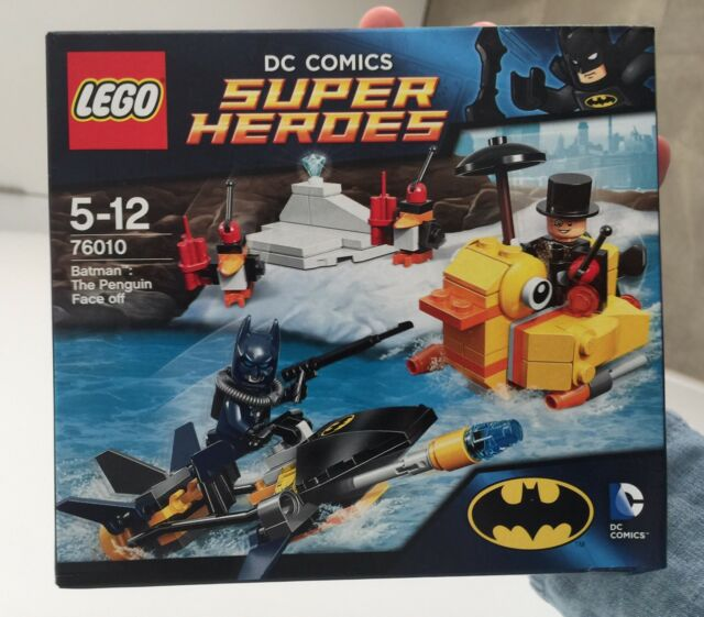 Lego Dc Superheroes Batman The Penguin Face Off  76010