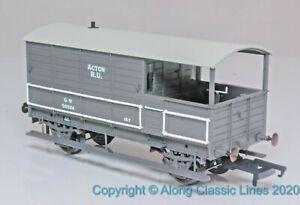 Oxford-Rail-OR76TOB002-OO-gauge-4-wheel-GWR-Planked-brake-van-039-Acton-039