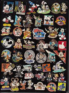 01-Disney-Pin-Pins-Walt-Disney-World-Disneyland-AUSSUCHEN-MICKEY-MOUSE