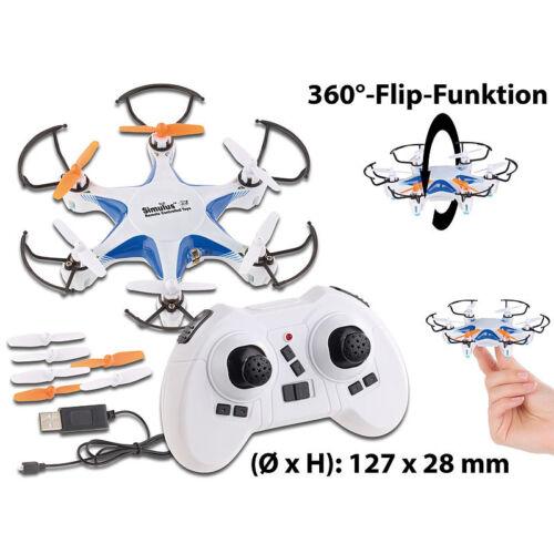 6-Kanal-Funk-Fernsteuerung Copter: Mini-Hexacopter m 2,4 GHz 6-Achsen-Gyro