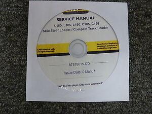 New-Holland-L180-L185-L190-Skid-Steer-C185-C190-Loader-Service-Repair-Manual-CD