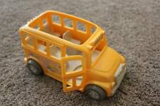 Sweet Streets Fisher Price Yellow School Bus Doll Dollhouse Toy RARE VHTF