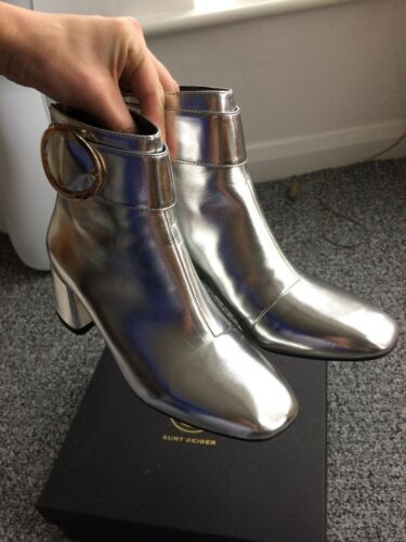 In Dilly Heel Box Size Boots 4 New Uk Ladies Kurt Silver Geiger S7TcBqRw