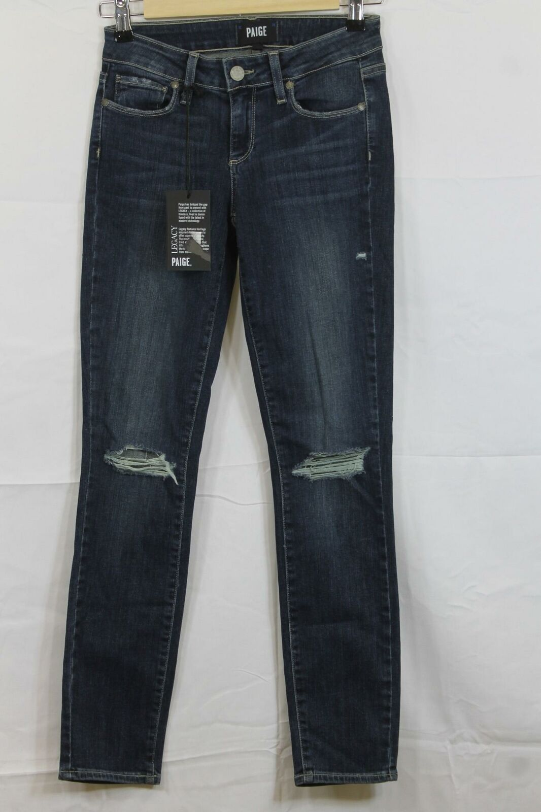 Womens PAIGE Legacy Verdugo Ankle Jeans 24 NWT