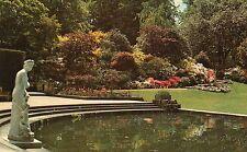 Postcard Kent Japanese azaleas i8n the cascade rockery Haver Castle unposted