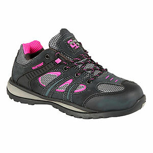 Zapatos grises Grafters para mujer LxJo9dVHSz