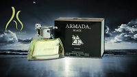Armada Black By Yves De Sistelle For Men-edt-spray-3.3 Oz-100ml-authentic-france