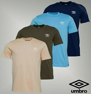 Mens-Umbro-Short-Sleeve-Crew-Neck-Top-Jersey-T-Shirt-Sizes-from-S-to-XXL