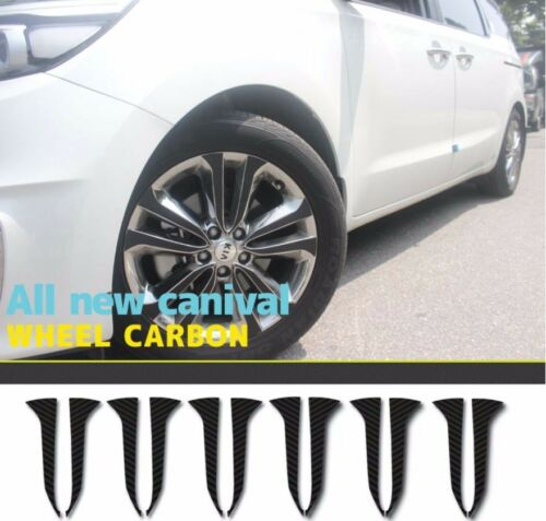Decal-X Wheel Carbon Sheet 4wheels For KIA Sedona 2015 2016