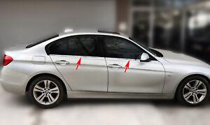 Acero inoxidable las barras de la ventana cromo para bmw 3er f30   BJ a partir de 2011 -   4tlg set Pulido