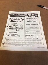 mtd yardman manual online