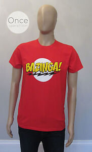 Authentic-Sheldon-The-Big-Bang-Theory-BAZINGA-T-Shirt-BNWT-Cult-TV