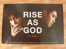 TVXQ  - RISE AS GOD [ORIGINAL POSTER] K-POP *NEW* DBSK
