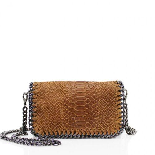 Women VPS01 Snakeskin Embossed Leather Bag Ladies Crossbody Shoulder Fancy Party