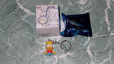 "Kidrobot Keychains Series The Simpsons Marge Simpson 1.5/"" 3D Vinyl Keychain Box"