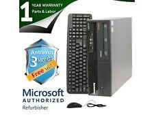 ThinkCentre Desktop Computer M58P Core 2 Duo E8400 (3.00 GHz) 4 GB DDR3 160 GB H