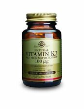 Solgar Vitamin K2 100 µg Vegetable 50 Capsules