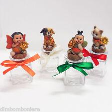 Bomboniere Barattolo animaletti battesimo nascita comunione compleanno