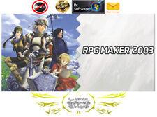 RPG Maker 2003 PC Digital Program KEY - Region Free