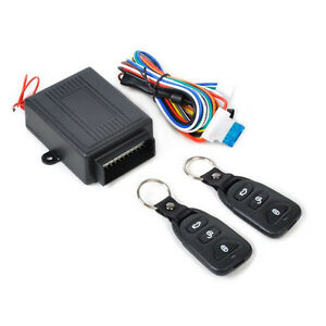 Remote Car Control Central Lock System Auto Locking Security Keyless Entry Kit 844132255477