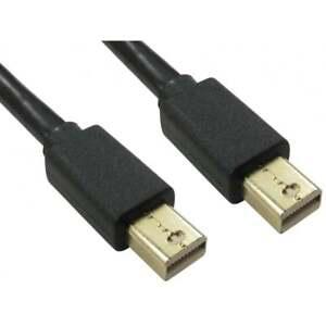5 M Long Mini Displayport Mâle à Mâle Câble Lead Thunderbolt Display Port Plug-afficher Le Titre D'origine Vsqb9fi1-07163548-684956525