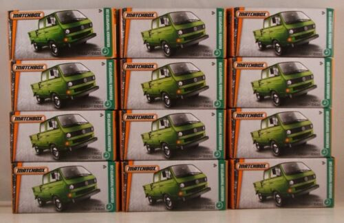 ● LOT of 12x 2017 iss NEW in BOX MATCHBOX POWER GRABS #95 VW Transporter Cab