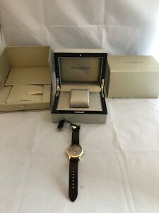 EMPORIO-ARMANI-Swiss-Made-Gold-Men-Gents-Watch-ARS3019-RRP-600-NEW-50M-165-Feet