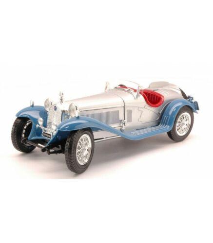 ALFA ROMEO 8 C 2300 SPIDER 1932 SILVER//BLUE 1:18