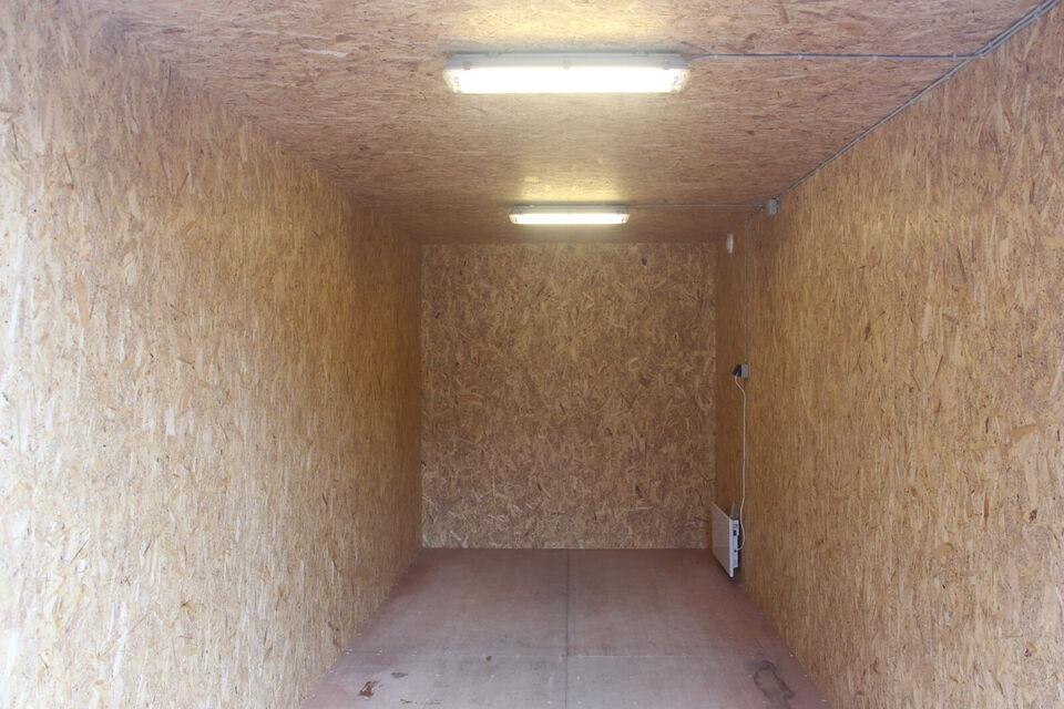 Lej en 20-fods isoleret container
