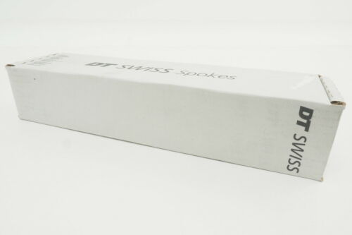 New DT Swiss Revolution 293mm J-Bend 1.8//1.5 Wheel Spoke Box of 500 Black