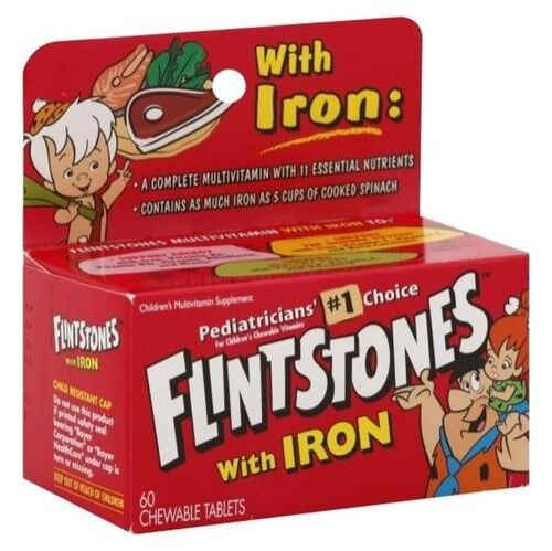 Flintstones vitamins Children's Multivitamin Supplement with