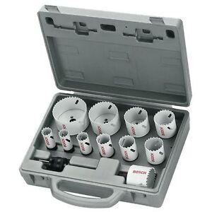 Bosch 14 Piece Plumber/'s Progressor Holesaw Set