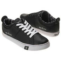 Marc Ecko Cut & Sew Bjorn-Rocco Mens Casual Leather Shoes Sneakers Black/White