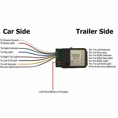 Trailer Caravan LED Light Fix Bypass Relay Towing Electrics Socket | eBayeBay