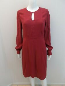 DAVID-LAWRENCE-DEEP-RED-OCCASIONS-DRESS-SIZE-10-R1418