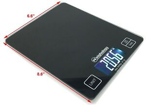 Glass-Top-Digital-Kitchen-Scale-Diet-Food-Postal-Mailing-8KG-17-6LBS-x-1g