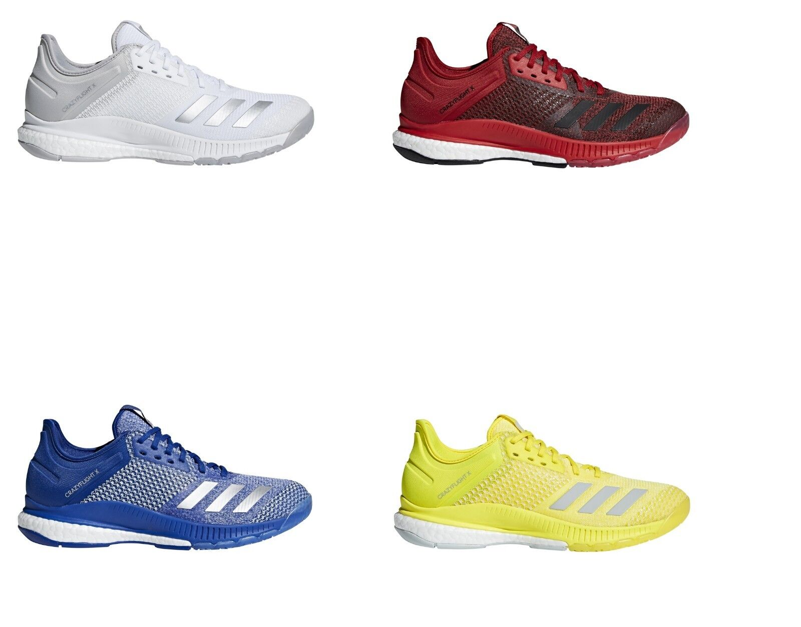 Adidas Women's Crazyflight X 2 Volleyball Shoes Sneakers Boost