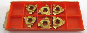 6-Filetage-Plaquettes-22NR4-5ISO-PTC2E-de-Hijum-Carbide-Tools-Neuf-H30861