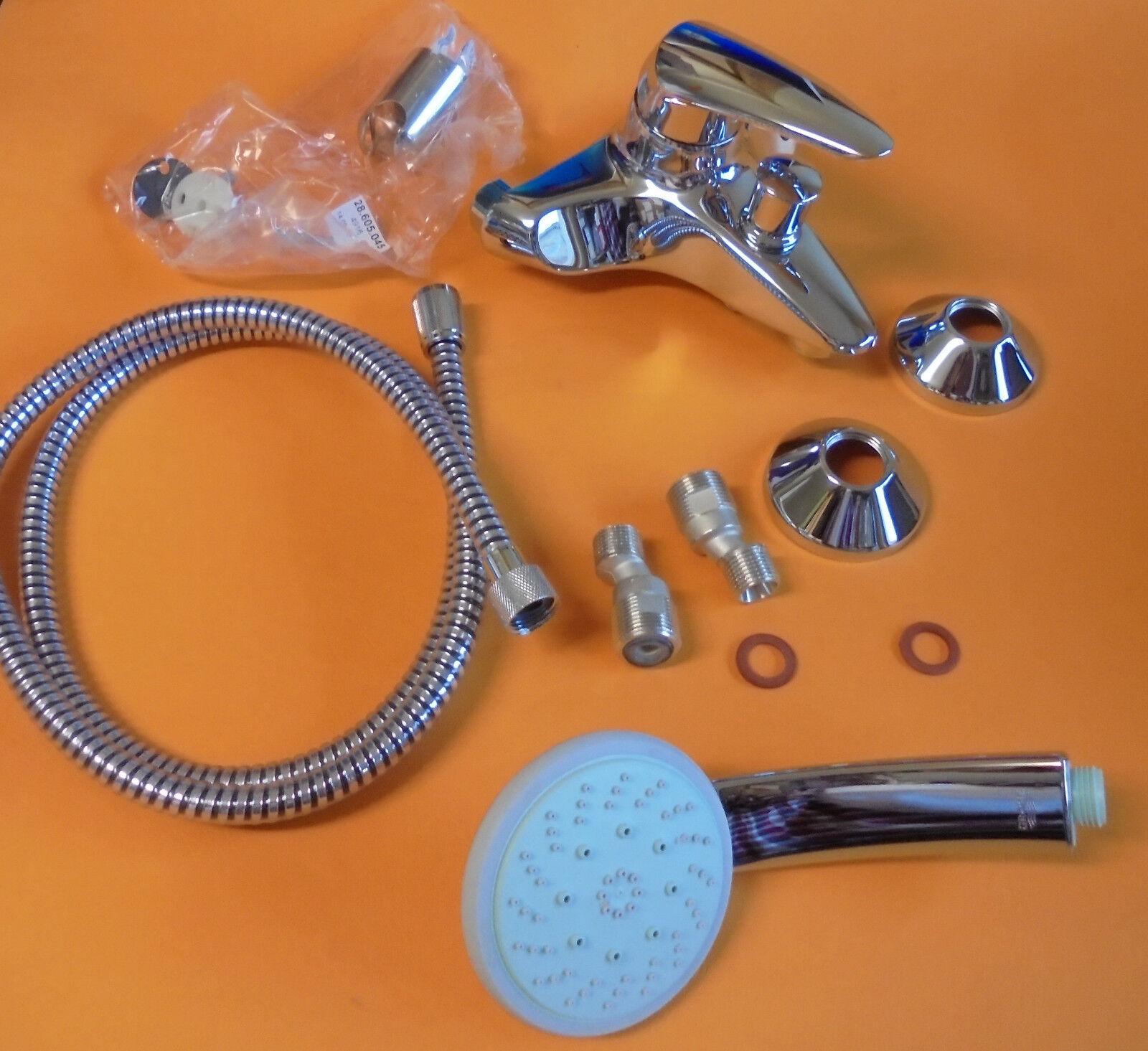 Grohe Eurodisc Wannenarmatur WFB mit Handbrause Set iincl. Brauseschlauch | Ausgezeichnet  | Exquisite Handwerkskunst  | Neue Produkte im Jahr 2019  | Ausgezeichnete Qualität